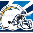 LOS ANGELES CHARGERS helmet new flag 150X90CM