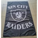 Oakland Raiders custom flags 90x150cm with 2 Metal Grommets 3x5ft