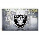 Oakland Raiders Flag Banner 3ft X 5ft Raiders Custom World Series Banner 3x5ft