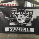 Oakland Raiders Banner World Series Premium Team Custom Colors 3ft X 5ft