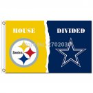 Pittsburgh Steelers Flag Vs Dallas Cowboys Banner Flag 90x150cm