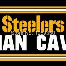 Pittsburgh Steelers Man Cave flag 3FTx5FT Banner 100D Polyester Flag