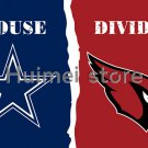 3x5ft Arizona Cardinals VS Dallas Cowboys flag house divided flag 150x90c