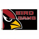 Arizona Cardinals Flag BIRD GANG Banner World Series Football Team 3ft X 5ft