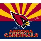 Arizona Cardinals Flag USA With Stars and Stripes Flag 3x5 ft