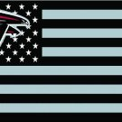 Atlanta Falcons nation with stars and stripes Flag 3ft x 5ft Polyester