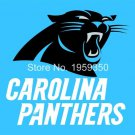 Carolina Panthers 3x5 FT Banner 100D Polyester Flag white sleeve