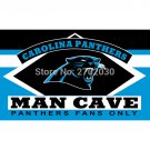 Carolina Panthers Fans Only Flag MAN CAVE Banner Flag 90x150cm