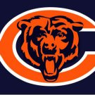 Chicago Bears has a big c and says bears 3FTx5FT Banner 100D Polyester
