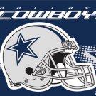 Dallas Cowboys Helmet Flying Flag Banner flag 3ft x 5ft 100D Polyester