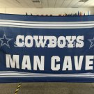 Cowboys MAN CAVE Flag star Dallas Cowboys Banner  3ft X 5ft
