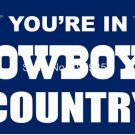 Dallas Cowboys country flag 3ftx5ft Banner 100D Polyester Flag 90x150cm