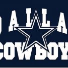 3X5FT Arch style dallas cowboys flag 100D polyester banner