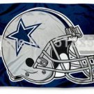 Dallas Cowboys Helmet Flag 3x5 FT Banner 100D Polyester NFL flag 176