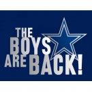 3x5ft digital print THE BOYS ARE BACK flag 90x150cm polyester banner
