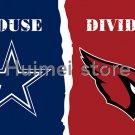 3x5ft Arizona Cardinals VS Dallas Cowboys flag house divided flag 150x90cm