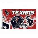 Helmet Design Houston Texans Flag Vs Dallas Cowboys Banners 3x5 FT