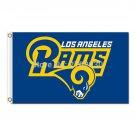 Los Angeles Rams Flag Super Bowl Champions Fan Flag World Series 3x5ft