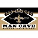 New Orleans Saints Fans Only Flag MAN CAVE Banner Flag  90x150cm
