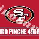 San Francisco 49ers Puro Pinche Banner Flag Custom Flags  3X5FT