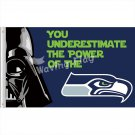 Seattle Seahawks star wars flag 3x5ft Banner 100D Polyester custom Flag