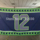Seattle Seahawks Man Cave Flag 3ft x 5ft Polyester Banner flag