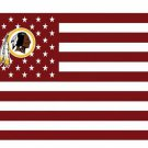Washington Redskins US flag with star and stripe 3x5 FT banner
