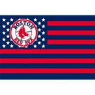 Boston Red Sox USA star stripe  Premium TeamBaseball Flag 3X5FT