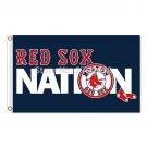 Nation Boston Red Sox Flag Fans Baseball Team Custom Banners 3x5 FT