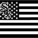 Chicago White Sox USA star stripe MLB Premium TeamBaseball Flag 3x5 FT