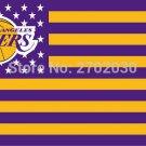 Los Angeles Lakers Basketball Team 90*150cm Sports Fan Flag 3x5 FT