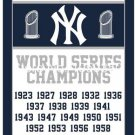 New York Yankees world seres champions flag MLB 3ftx5ft Banner