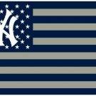 New York Yankees flag 3ftx5ft Banner 100D Polyester Flag metal Grommets