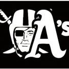 Oakland Athletics and Oakland Raiders flag 3x5ft flag polyester flag