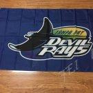 Tampa Bay Devil Rays flag 3ftx5ft Banner 100D Polyester Flag metal Grommet