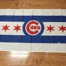 "Sport Produkte MLB 3'x5 ""Chicago Cubs flag 90x150cm Chicago Cubs Baseball flag"