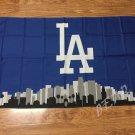 Los Angeles Dodgers flag 3ftx5ft Banner 100D Polyester Flag metal Grommets