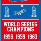 Los Angeles Dodgers champion flag MLB banner 100D polyester 3x5ft