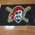 Pittsburgh Pirates Flag MLB MajorLeagueBaseball 3ft x 5ft Polyester Banner