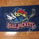 Columbus Blue Jackets flag 3ftx5ft Banner 100D Polyester Flag metal Grommets