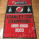 New Jersey Devils Stanley Cup Champions Flag 3ft x 5ft Polyester