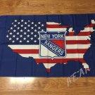 New York Rangers flag 3x5ft polyester banner  New York Rangers