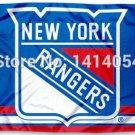 New York Rangers column Flag 150X90CM  3X5FT Banner 100D Polyester