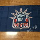 New York Rangers flag 3ftx5ft Banner 100D Polyester Flag metal Grommets