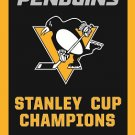 2017 Pittsburgh Penguins flag Champion Banner 100D Polyester Flag 3x5 FT