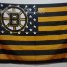 Boston Bruins USA With Stars and Stripes Flag Hot Sell Goods 3X5FT 150X90CM