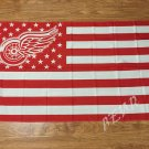 Detroit Red Wings flag 3ftx5ft Banner 100D Polyester Flag metal Grommets