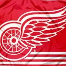 Detroit Red Wings Flag National Hockey League 3ft x 5ft Polyester Banner