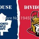 Toronto Maple Leafs Ottawa Senators House Divided Flag Banner New 3x5ft