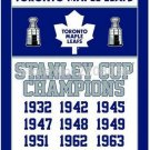 Toronto Maple Leafs flag 3ftx5ft Banner 100D Polyester Flag metal Grommets